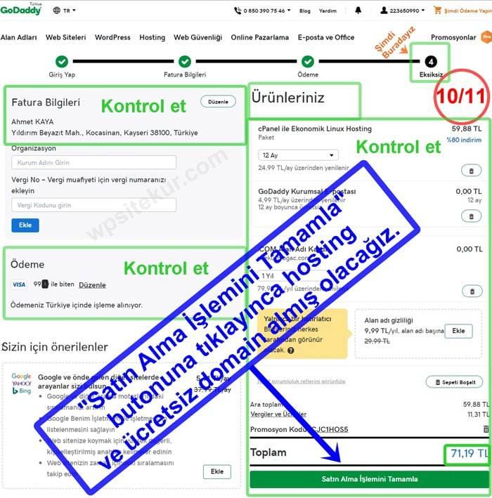 Blog Oluşturmak İçin En Ucuz Hosting alma ve Ücretsiz Domain Sorgulama