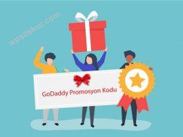 GoDaddy İndirim (Kampanya Kuponu - Promosyon Kodu) ile Web Hosting ve Ücretsiz Domain Almak için Linke Tıkla