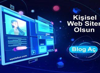 Site Kur - Wordpress Kişisel Blog Açma Rehberi | WPSiteKur