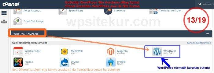 WordPress ile site kurma blog açma aracı tercihi