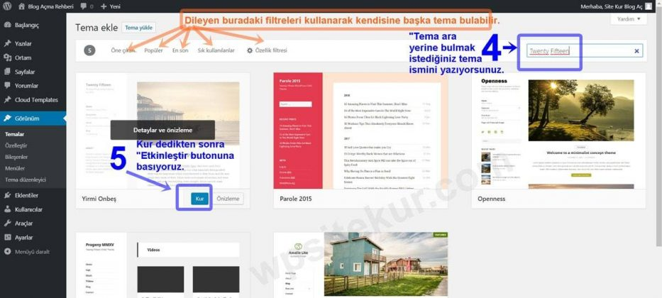 WordPress Themes 2