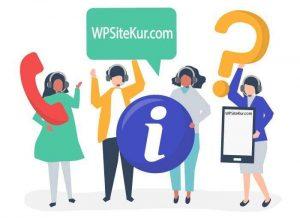 WPSiteKur.com WordPress Site Kurma Rehberi Hakkında | Durma Blog Oluştur Site Aç - Site Ekle