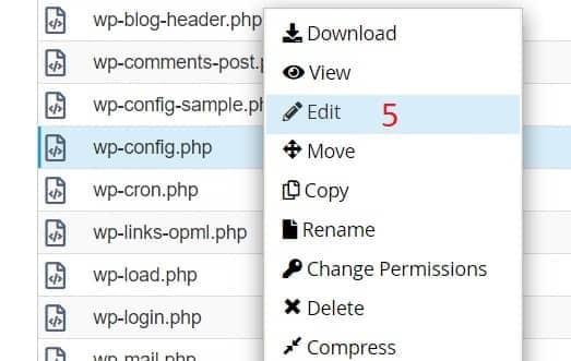 5 WP Memory Limit-config.php üzerinde edit yani düzeltme yapma