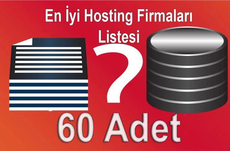 Türkiye'deki En İyi Hosting Firmaları Listesi