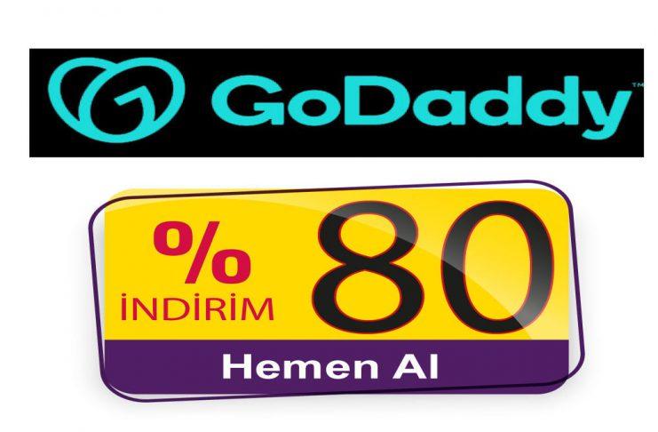 Godaddy Promosyon Kodu - 5 TL Kampanya - İndirim Kuponu