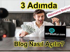 Blog Nasıl Açılır - İnternette Blog Oluşturmak ve Para Kazanmak Çok Kolay