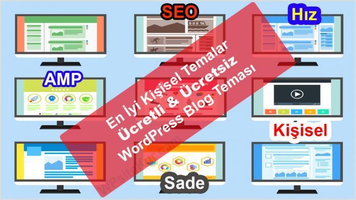 WordPress Blog Teması - En İyi Kişisel WP Temaları