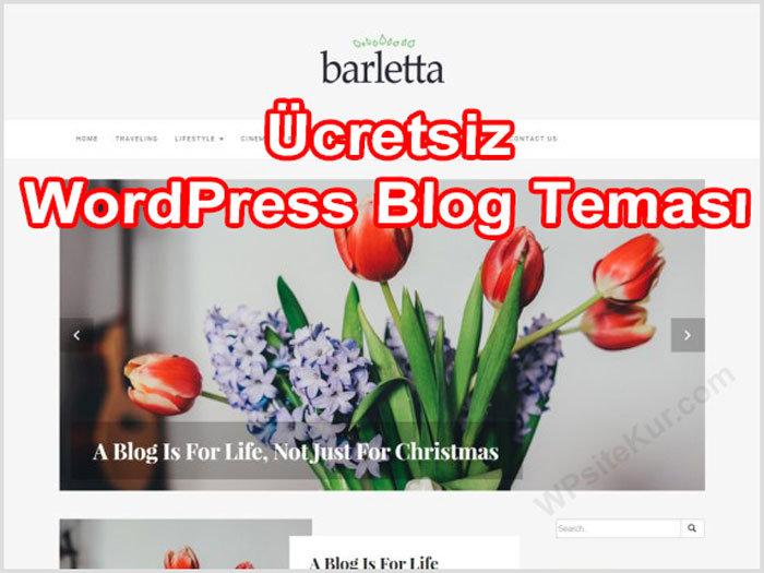 WordPress Blog Teması Barletta