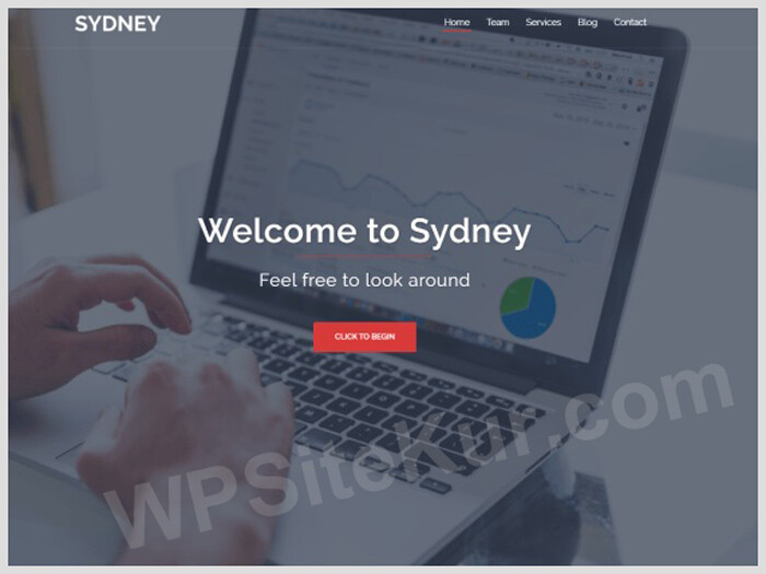 Sydney - WordPress Blog Theme Free