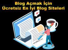 Blog açmak istiyorum ve yazarak para kazanmam lazım diyenler için 10 ücretsiz en iyi blog siteleri ve blog örnekleri listesi hazırladım. Kişisel web sitesi oluşturabilirsiniz.