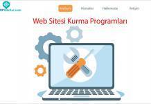 İnternette web sitesi kurmak için kullanabileceğiniz en iyi ücretli ve ücretsiz web site kurma programları WordPress, Wix, Weebly, Site123