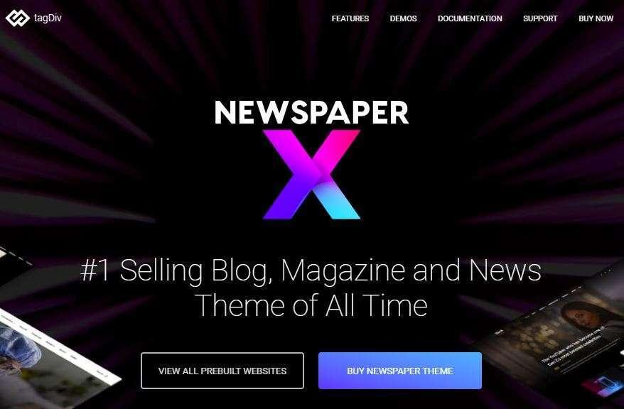 Newspaper, blog sitelerinde kullanılabilen hızlı, SEO uyumlu ve en iyi kişisel ve iyi tasarıma sahip bir WordPress blog temasıdır.